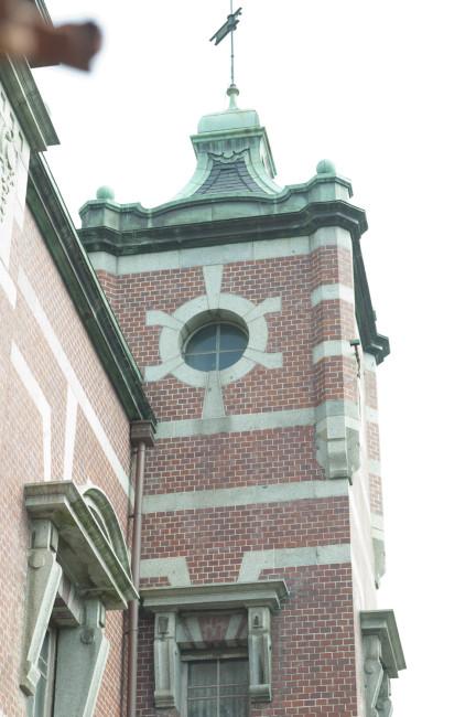 まちのランドマーク的存在、旧盛岡銀行本店