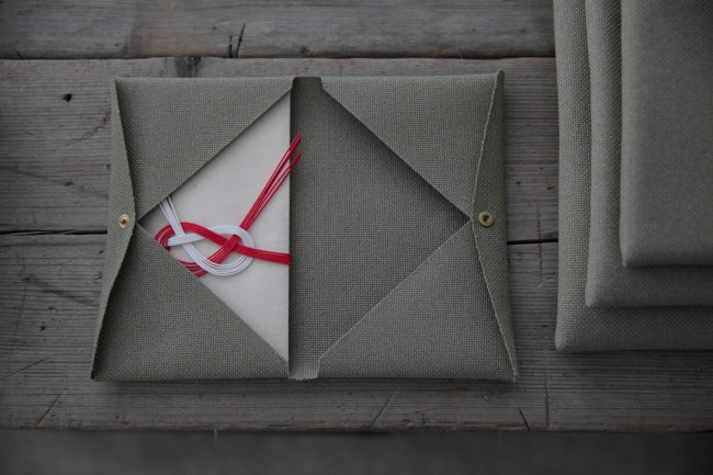 ポリエステル100%の布「ステインプルーフ」の祝儀袋