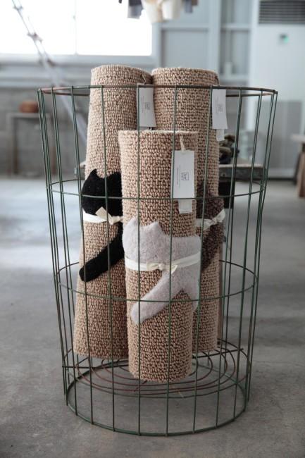 穂積繊維工業製の「Rondo cat mat」