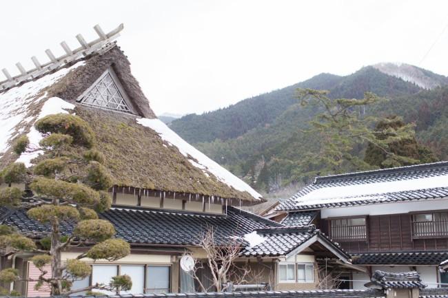 緑深い山々に囲まれた西粟倉村