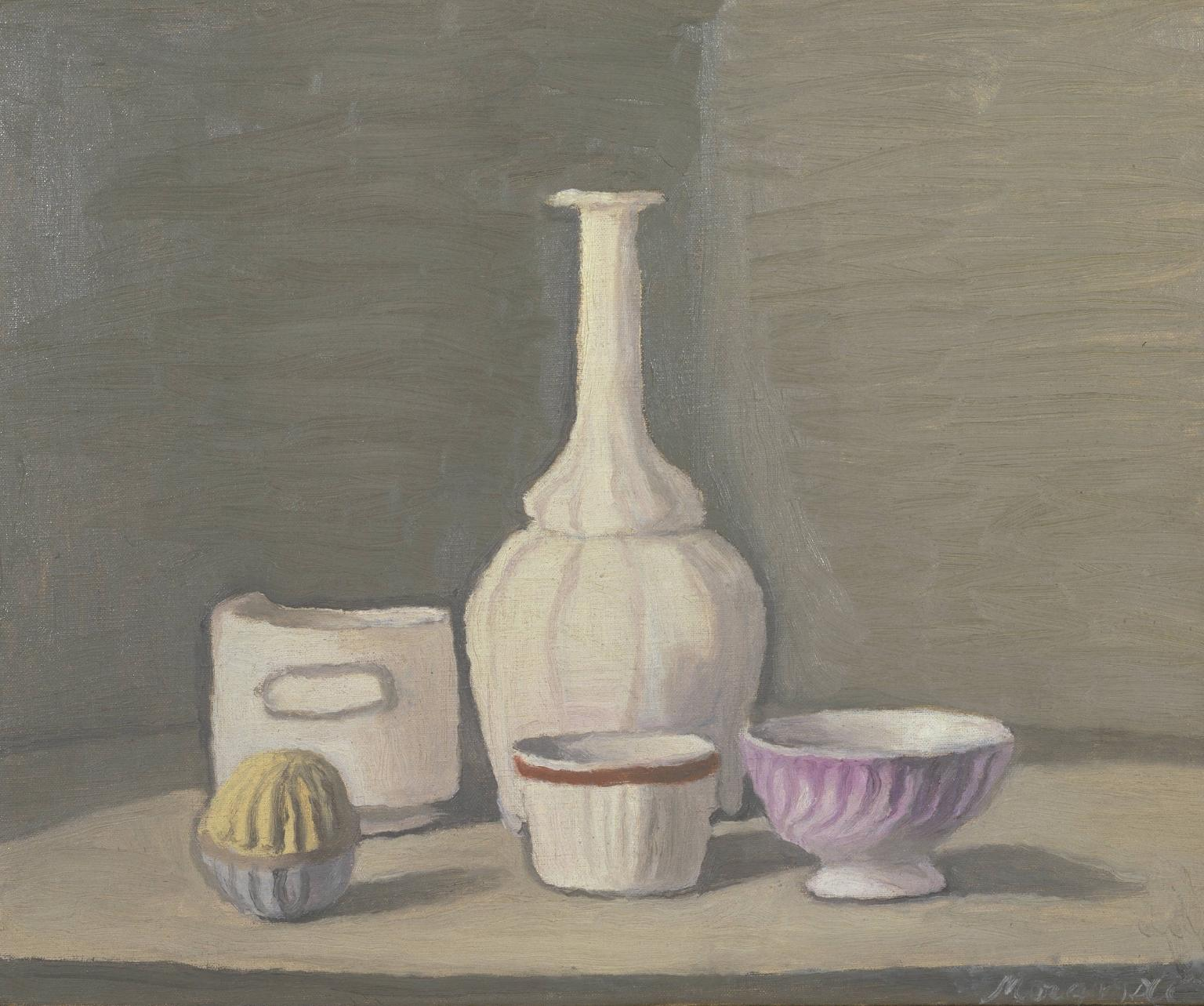 Still Life 1946 Giorgio Morandi 1890-1964 Presented by Studio d'Arte Palma, Rome 1947 http://www.tate.org.uk/art/work/N05782