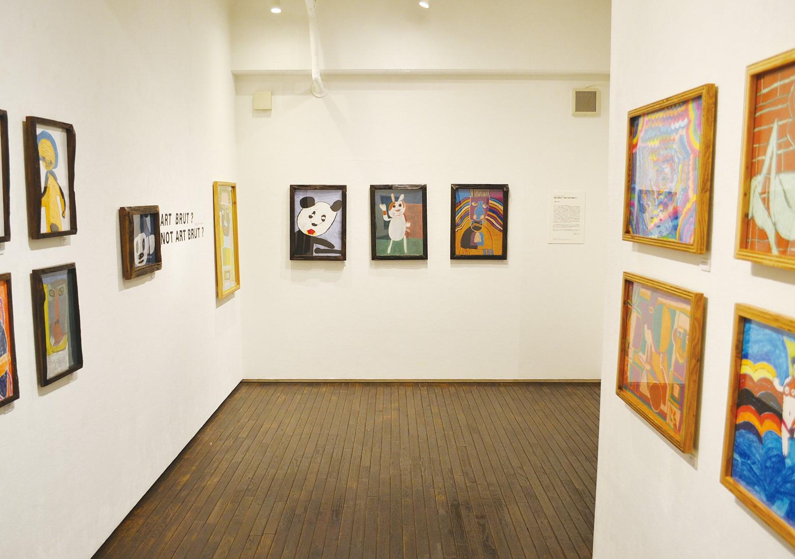 昨年の12月、大阪の「iTohen」にて開催された展覧会「BRUT?NOT ART BRUT?」。アール・ブリュットと呼ばれてひとくくりにされることに疑問符を投げかける。