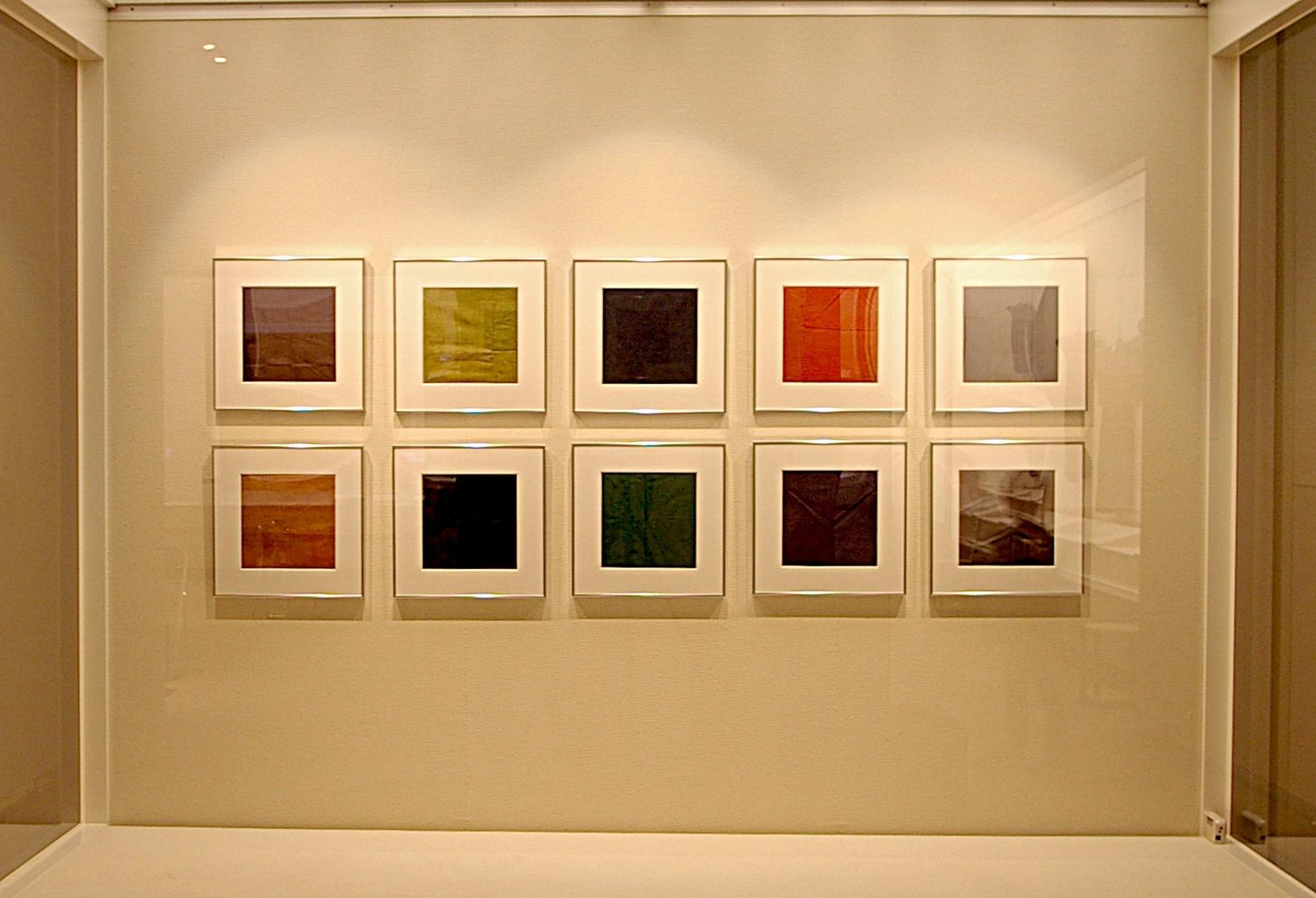 「ひきだす」と題した活動展示収蔵品展(2010年)で「はぎれ」の試験的な展示を行う。生活文化史の資料である「はぎれ」を色彩に着目した試み。