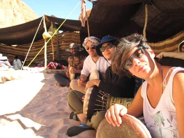 シナイ砂漠のキャンプ1