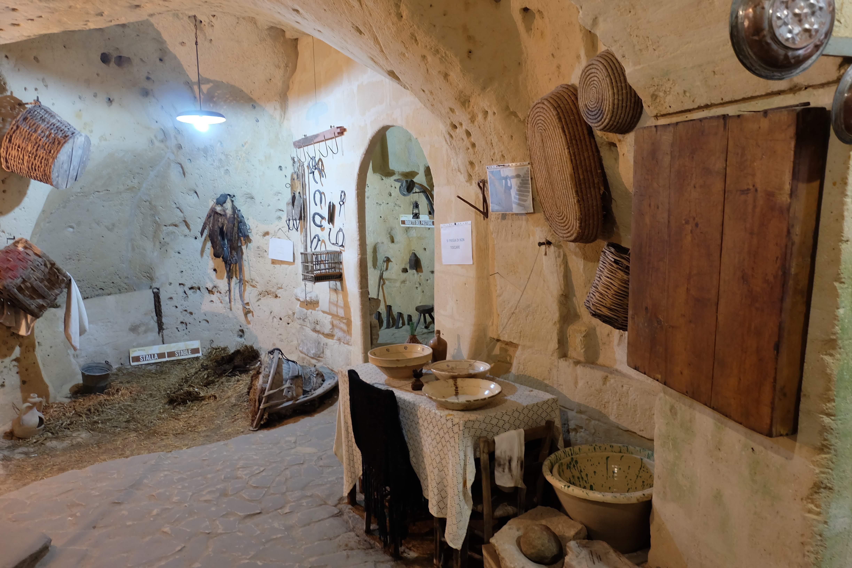 「イタリアの恥」時代の住居の様子