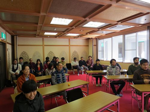 神山塾の入塾式には、グリーンバレーとまちのひとたちも同席する