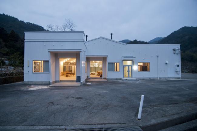 神山バレー・サテライトオフィス・コンプレックスの外観
