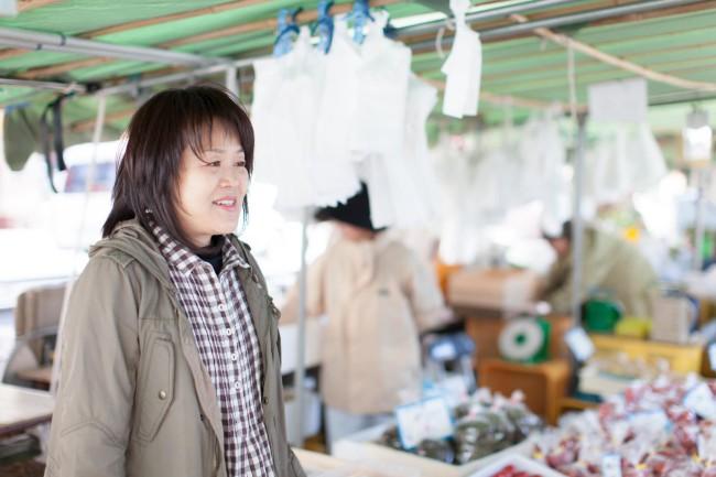 手づくり寿司の名人、今井美弥子さん