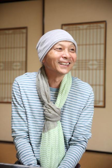 妙蓮寺の塔頭「圓常院」の住職で、町家倶楽部代表の佐野充照さん
