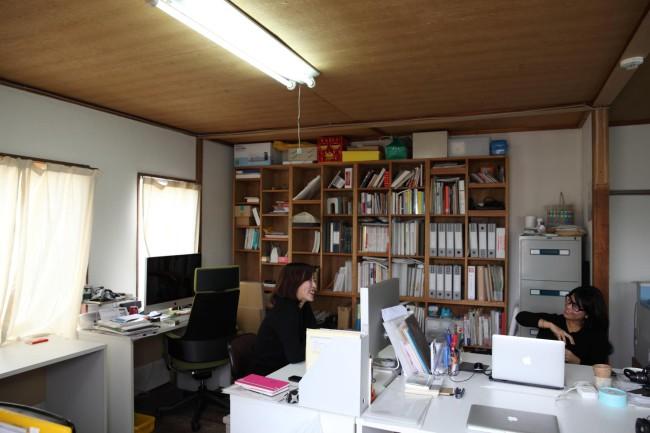 3階のシェアオフィス