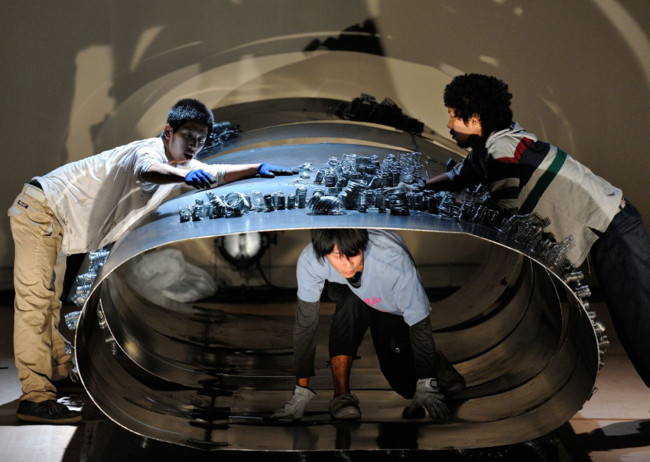 [Big-One-パイプ]第6回AACサウンドパフォーマンス道場本公演(写真提供:愛知芸術文化センター、撮影: 加藤光)