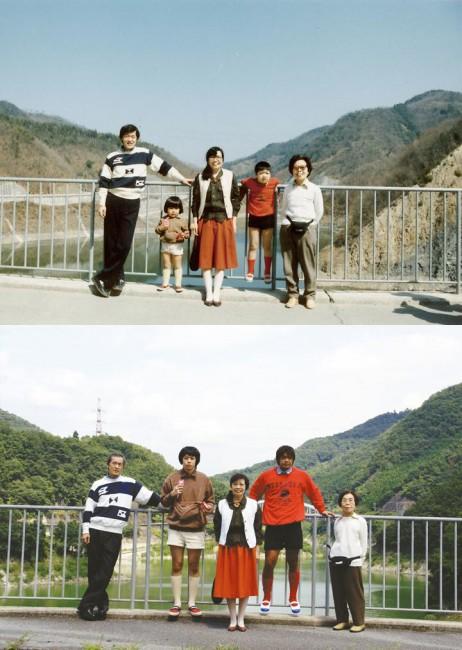 西尾美也《家族の制服「西尾家」》 2006年