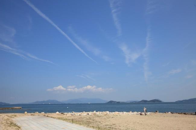 会場のひとつ、女木島。穏やかな暮らしが営まれる、おおらかなところだ