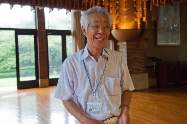 かつて甲子園ホテルを施工したゼネコンで構造設計の仕事をしていた吉村さんは退職後に甲子園会館のスタッフへ