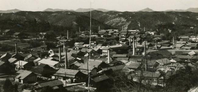 1959年の笠原町の様子(提供:多治見市図書館郷土資料室)