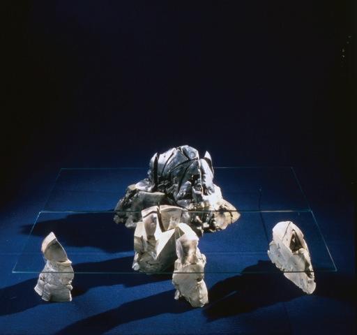 第40回ファエンツァ国際陶芸コンクールグランプリ作品 「Isola」1984年