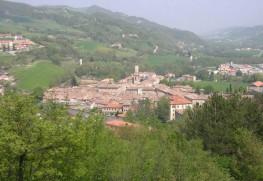 イタリアにあるまちメルカテッロ。井口さんは一年の半分近くをここで過ごす。