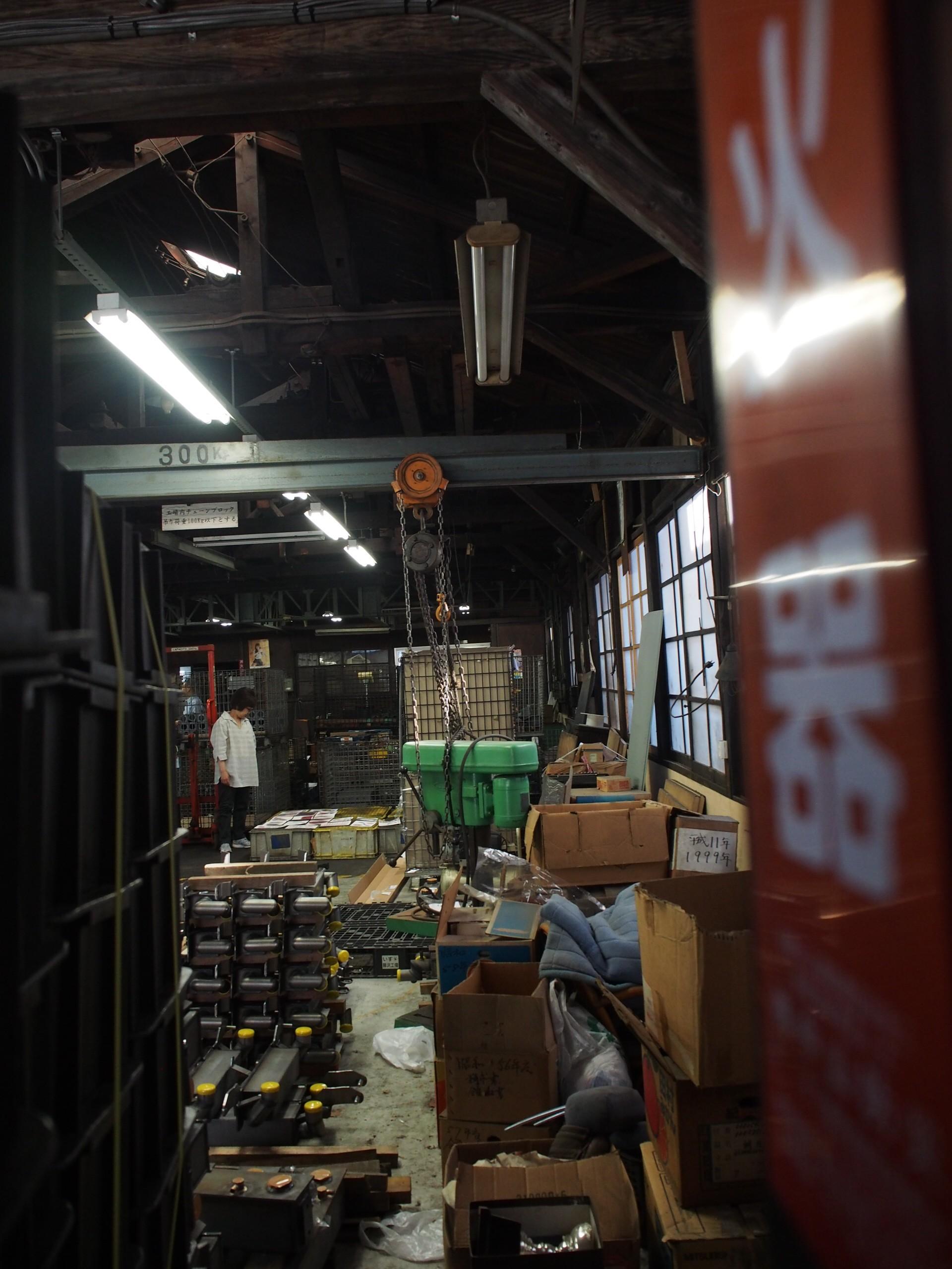 大田区西六郷「石戸製作所」。すでに工場としての役目を終え、建物は消えてしまいます。