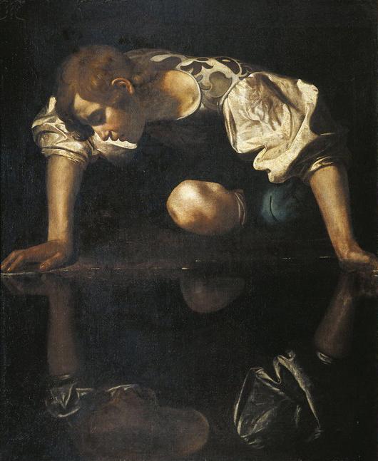 Caravaggio (Michelangelo Merisi, 1571-1610), Narcissus.