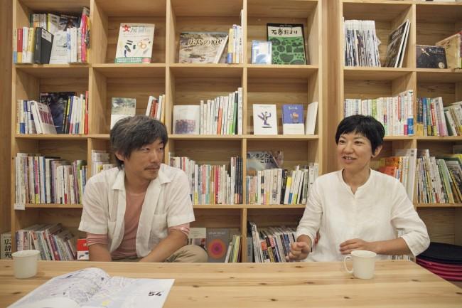 勝 邦義さんと阿部史枝さん