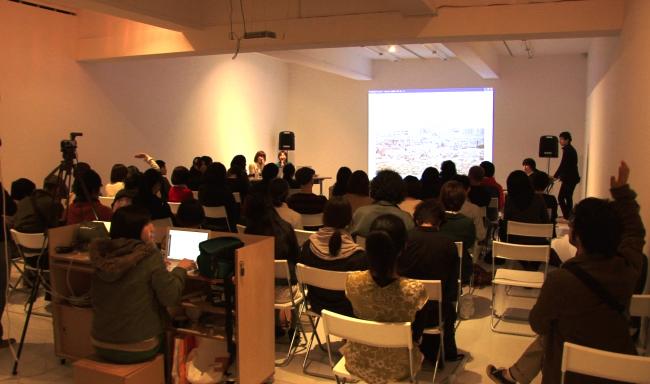報告会のようす©Komori Haruka + Seo Natsumi
