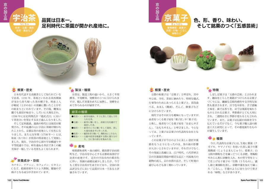 公式テキスト茶と菓子