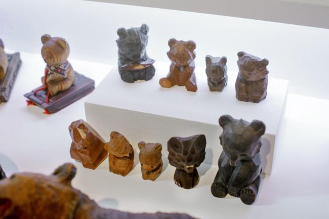 小さい熊たち