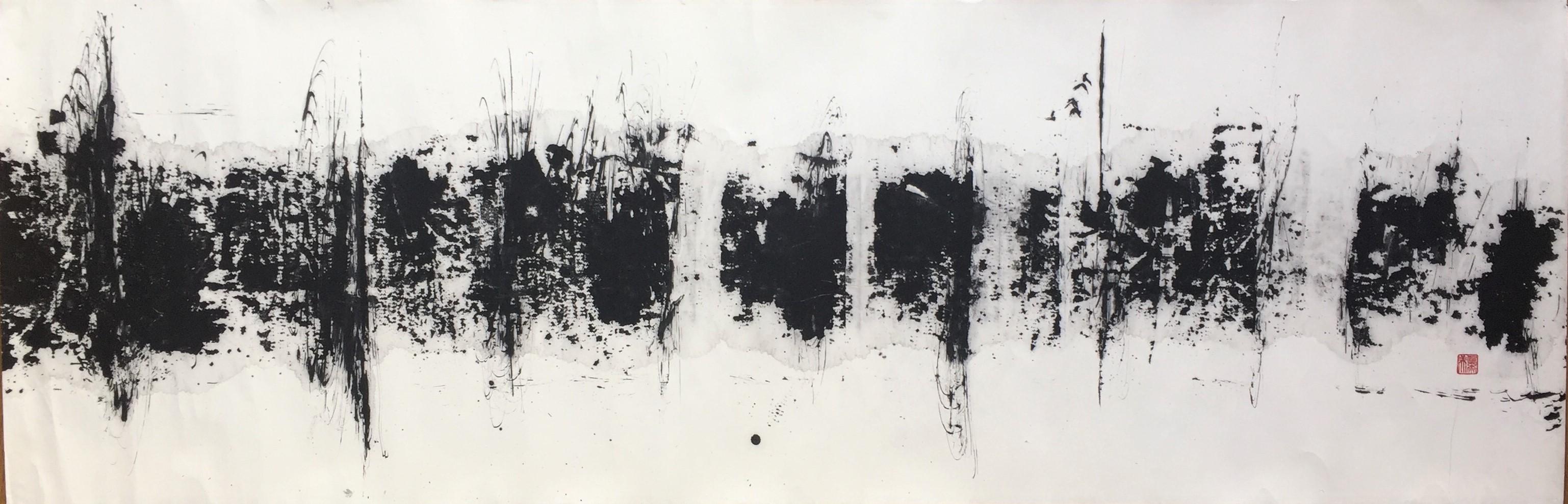 《木漏れ日》 第62回奎星展(2013年)準特選