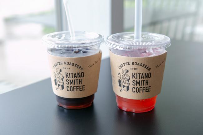 地産地消のメニューに積極的なKITANO SMITH COFFEE。地元の人気店だ