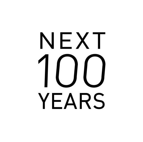 新ブランドNEXT 100 YEARSのロゴマーク。12月5日、ジェイアール京都伊勢丹に店舗がオープンする