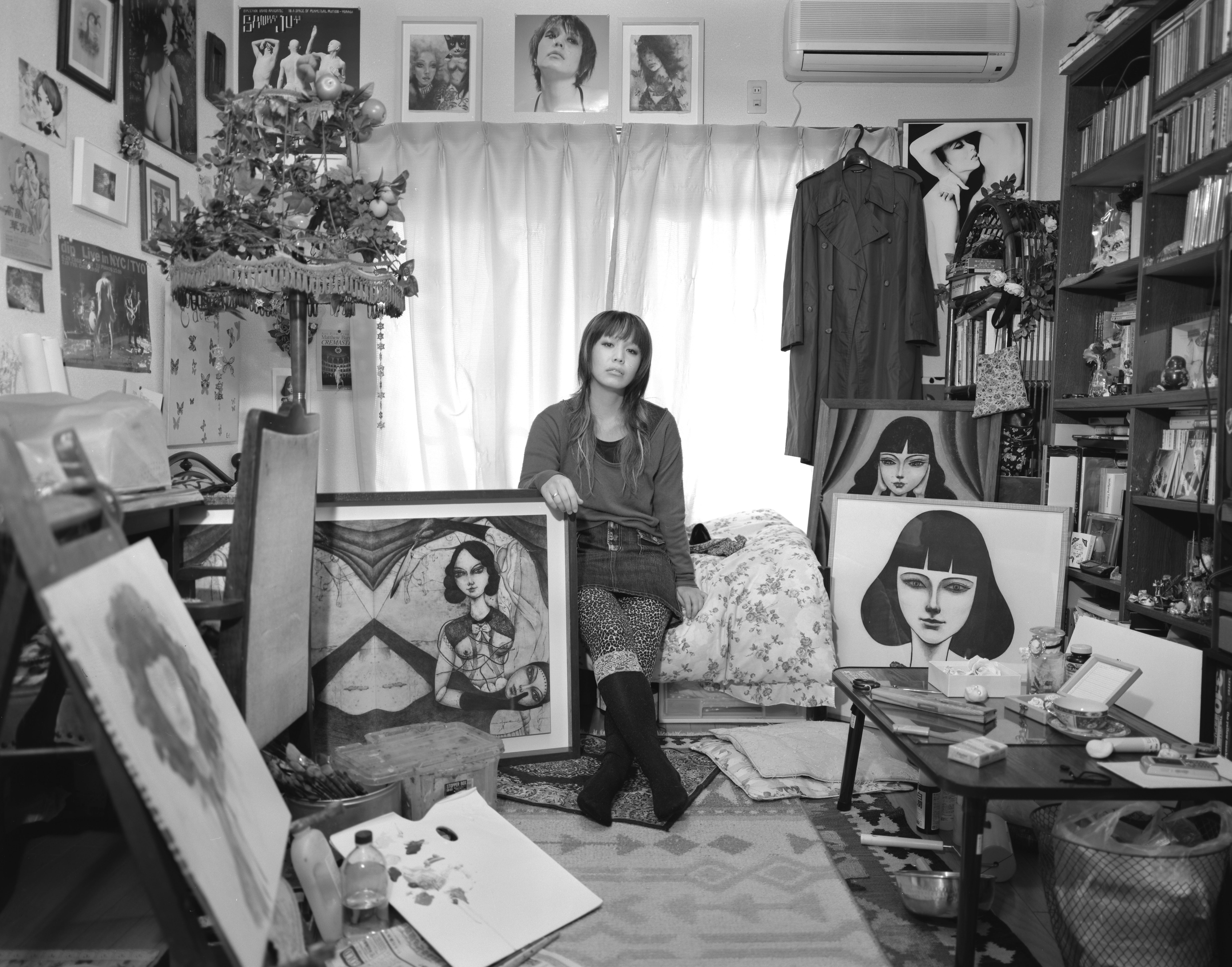 """女性を撮ることの""""純粋讃歌""""として制作した〈称像〉シリーズ"""