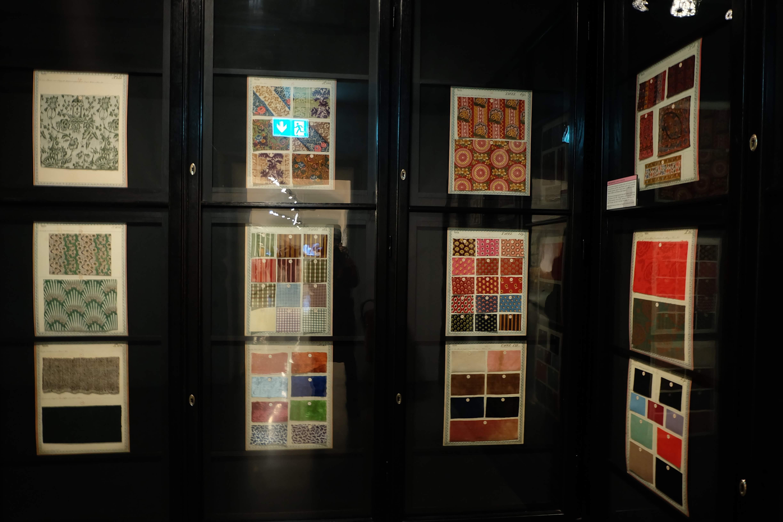 博物館にあるテキスタイルのアーカイブ