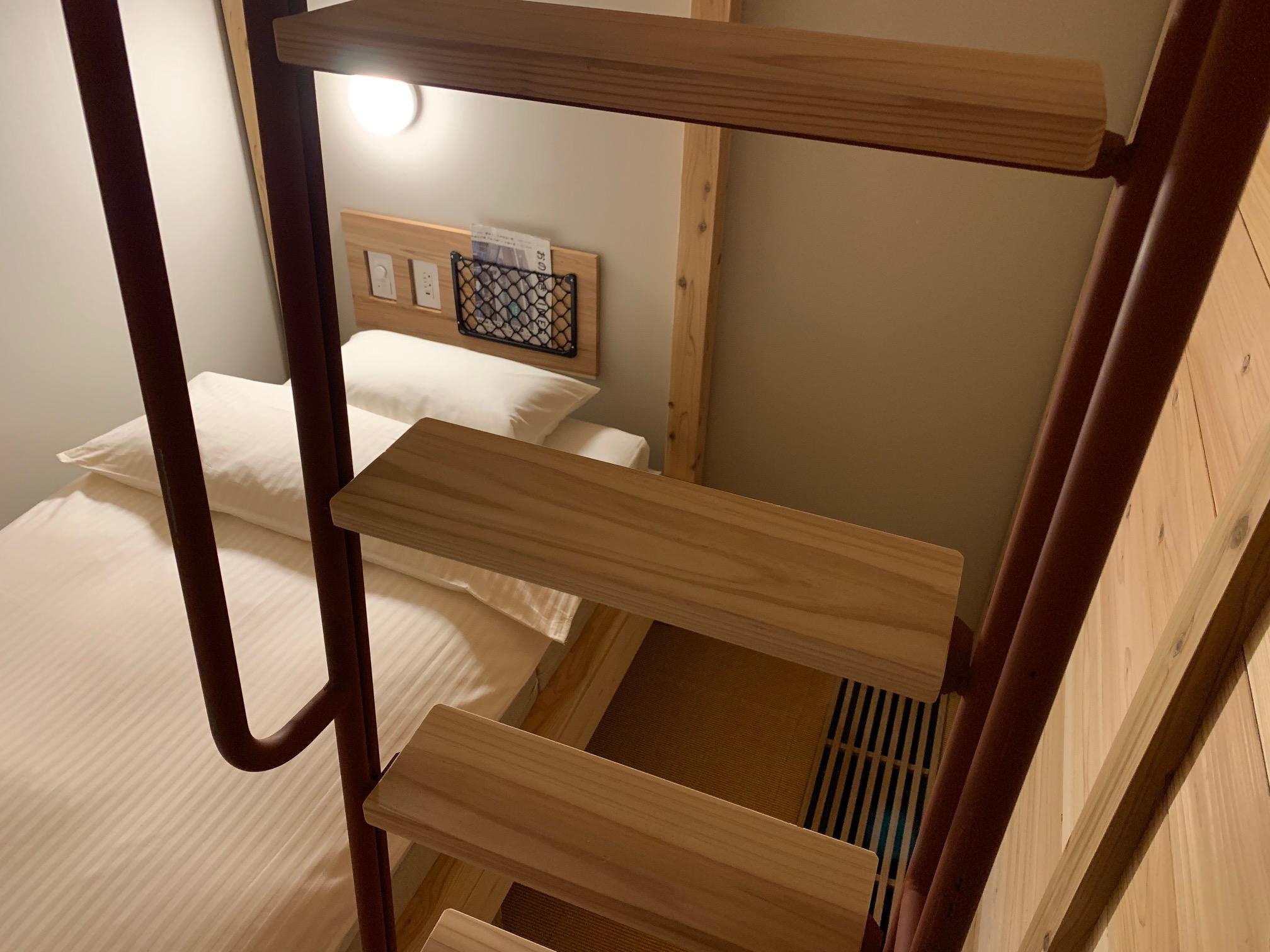 一般的なホテルにはない空間を楽しめる