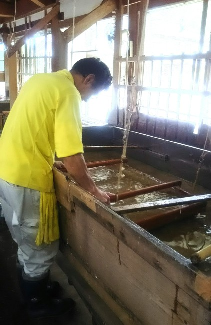 和紙漉き技術を見学・体験できる施設 東秩父村「和紙の里」