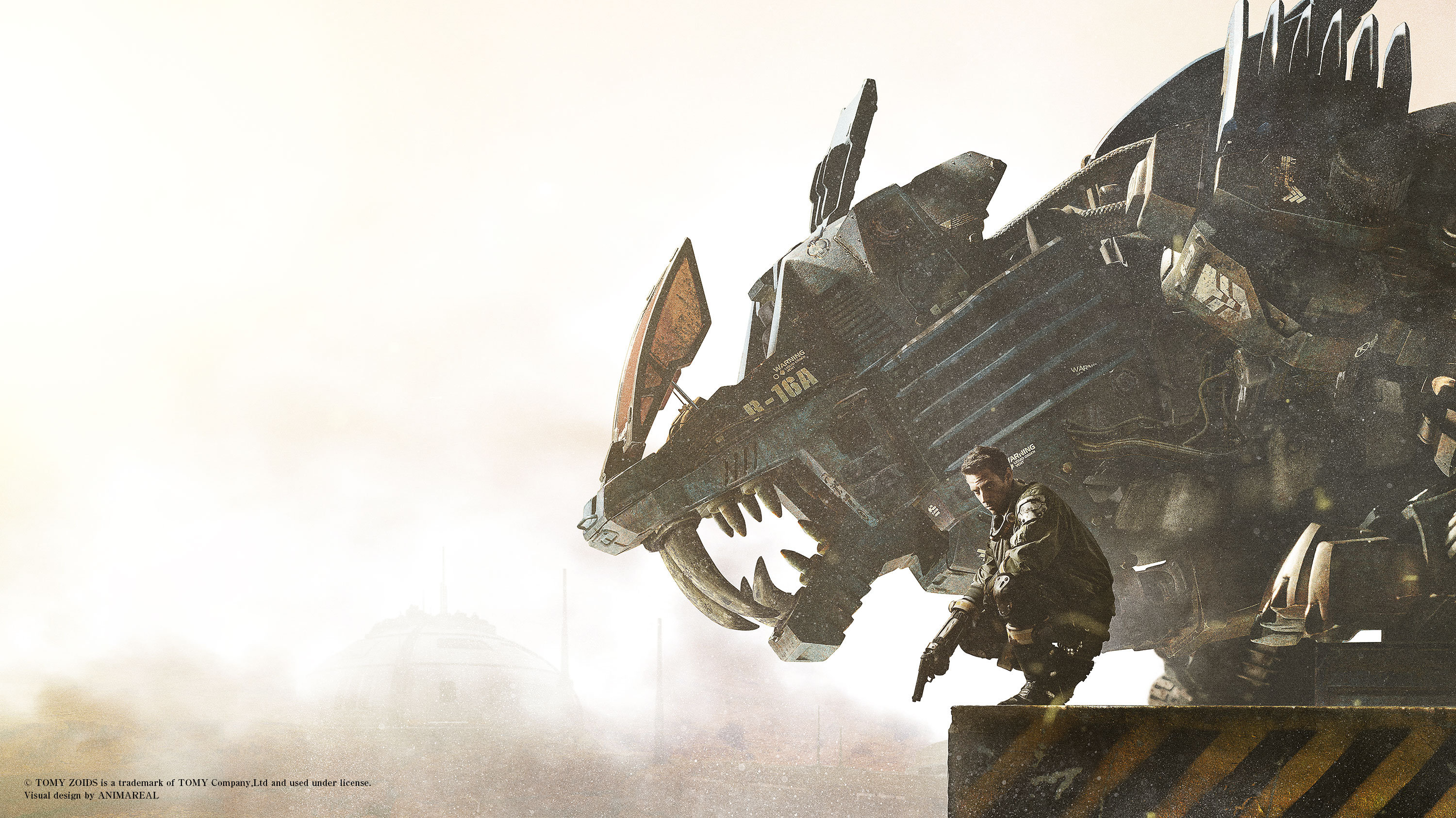 ©TOMY ZOIDS is a trademark of TOMY Company,Ltd and used under license. Visual design by ANIMAREAL