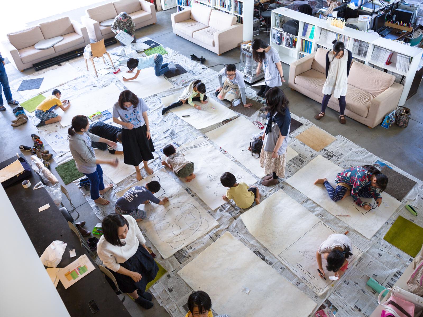東北の伝統工芸をつくる体験や、地産のものを素材にしたものづくりなど、子どもはもちろん大人にとっても新たな発見のあるワークショップが盛りだくさん