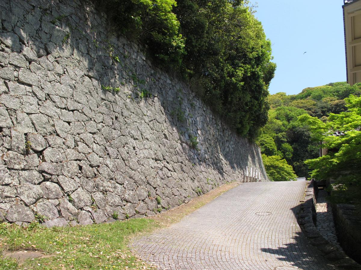 松山城の登城道
