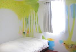 4階のアーティストルーム(アーティスト / 瀬戸口朗子)