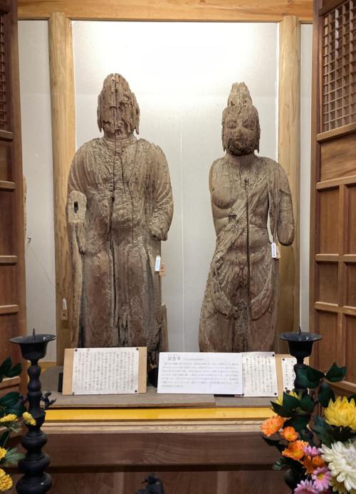 信長の比叡山焼き討ちの際は田んぼに隠したとされる仏像(通称いも観音)